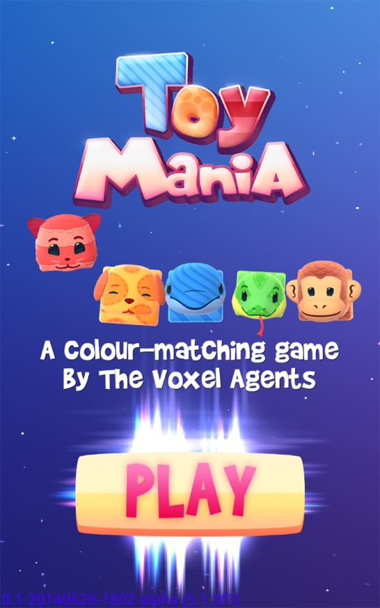 ToyMania Title Screen